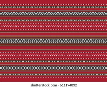 Illustration of Middle Eastern Traditional Carpet Fabric Texture