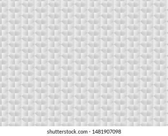 Illustration of modern white background, gray quadrilateral on white background