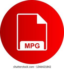 Illustration  MPG Icon