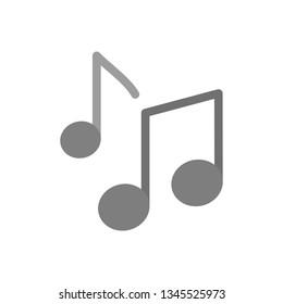 Illustration  Music Notes Icon