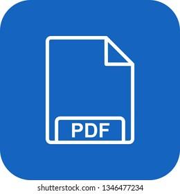 Illustration PDF Icon