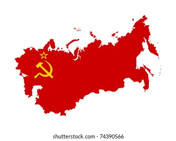 Soviet Russia Map Images Stock Photos Vectors Shutterstock