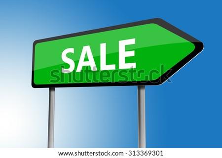 Sale Blue : Blue d text auf weißem schnee hintergrund für winter sale
