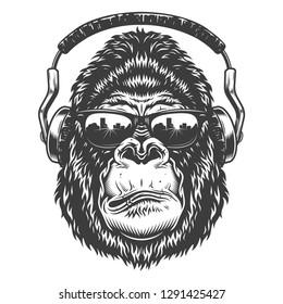 Monkey Face Images Stock Photos Vectors Shutterstock
