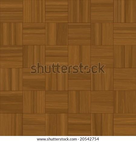 Illustration Square Pattern Parquet Flooring Stock Illustration