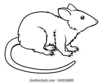 Rat Drawing Images Stock Photos Vectors Shutterstock