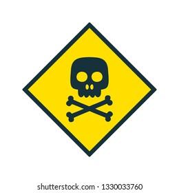 Illustration Toxic Icon