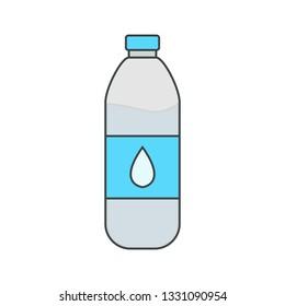 Illustration Water Bottle Icon
