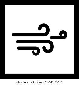 Illustration Wind Icon