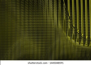 Illustration yellow and black vibrant and dynamic electric vibrations, soaring and rotating layers, effects and elements abstract/background