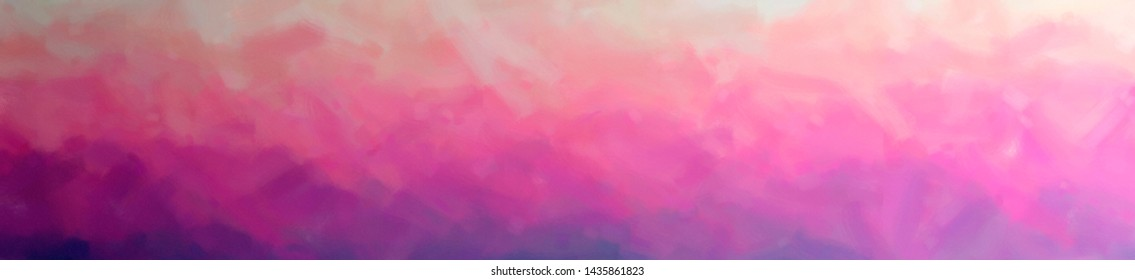 Illustration of Yellow and Purple Dry Brush Oil Paint background, abstract paint