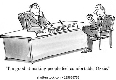 """""""I'm good at making people feel comfortable, Ozzie."""""""