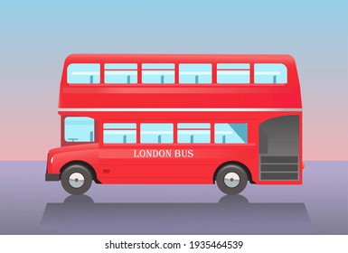 Image Double decker bus in London