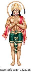 Image of Lord Anjaneya or Hanuman