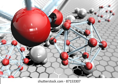Image molecules and atoms