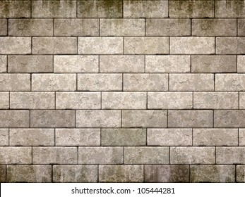 An image of an old brick wall background