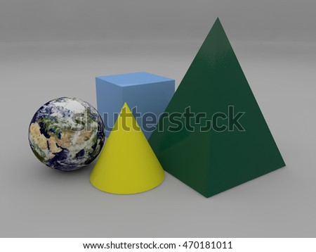 Royalty Free Stock Illustration of Image Planet Earth Near