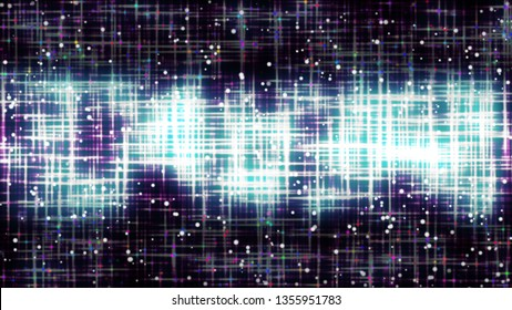 Imitation of star clowd, universe cosmic style design with many particles, 3d rendering computer generated background