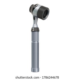 Immersion oil dermatoscope, 3D rendering isolated on white background