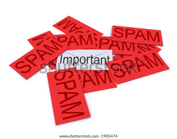 Important mail hidden under SPAM mail