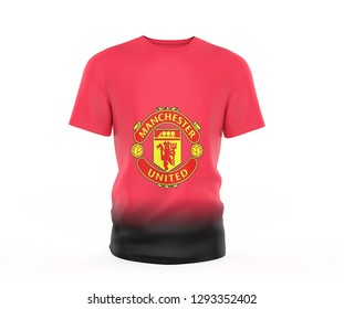 newest 132f6 31c5e Manchester United Football Flag Images, Stock Photos ...