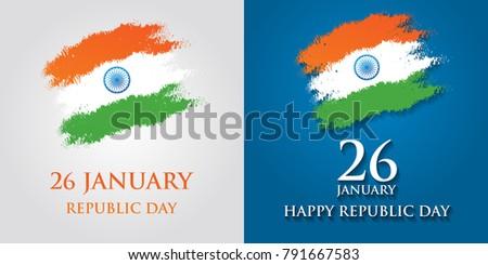 Royalty free stock illustration of india republic day greeting card india republic day greeting card design illustration 26 january republic day of india m4hsunfo