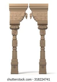 Indian Column Arc