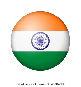 India Flag Round Images Stock Photos Vectors Shutterstock
