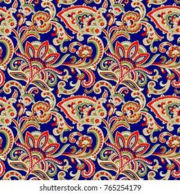 Indian paisley pattern