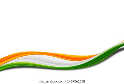 indian tri color flag background graphic design 15 august 26 January