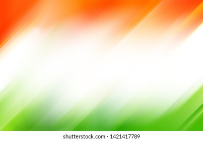 Indian tricolor flag background template 15 august, 26 January
