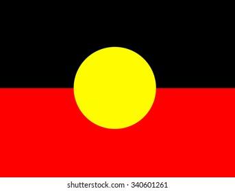Indigenous Australian flags