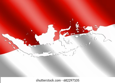 indonesia flag 260nw 682297105