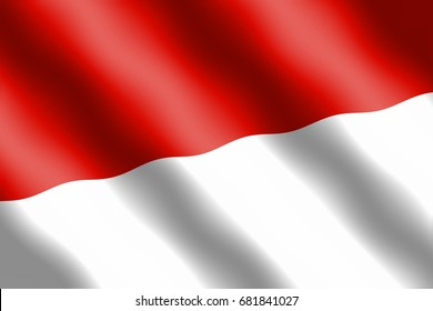 indonesian flag independence day 260nw 681841027