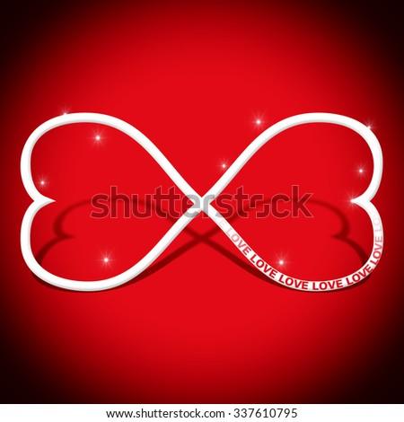 Infinity Symbol Love Concept Stock Illustration 337610795 Shutterstock