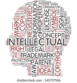 Info-text graphic - intellectual