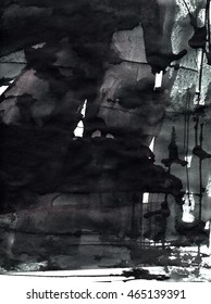 ink texture on paper