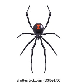 Black Widow Spider Images Stock Photos Vectors Shutterstock