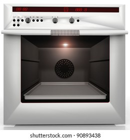 inside a great convection oven