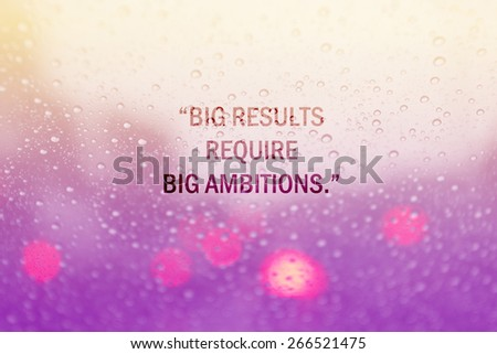 Inspirational Quotes On Water Drop On Stock Illustration 266521475