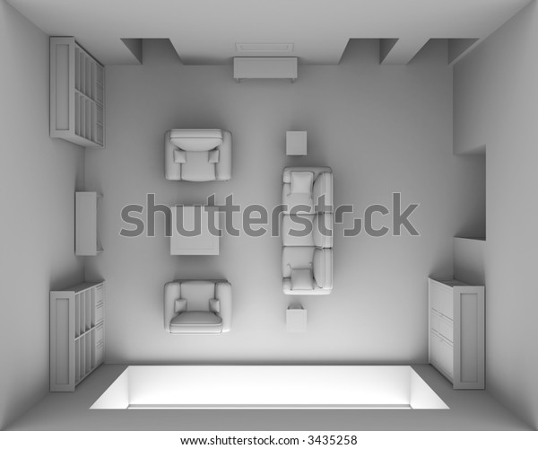 Interior concept - top view