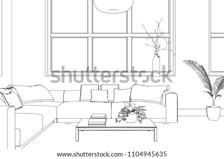 ✨ 3d image of drawing room | 30 Beautiful Wall Art Ideas
