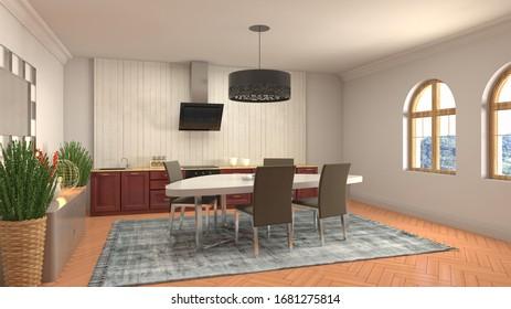 Dining Room Floor Images Stock Photos Vectors Shutterstock