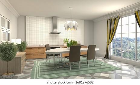 Wood Kitchens Images Stock Photos Vectors Shutterstock