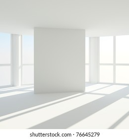 interior of an empty room