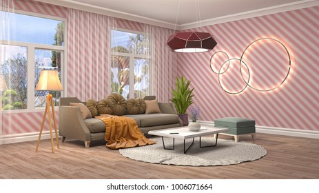 Interior Design Living Room Images, Stock Photos & Vectors ...