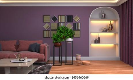 Living Arredamento Moderno.Immagini Foto Stock E Grafica Vettoriale A Tema Arredamento