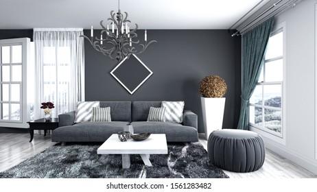 Maison Moderne Intérieur Images, Stock Photos & Vectors ...