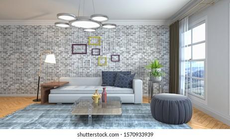 Maison 3d Intérieur Images, Stock Photos & Vectors ...
