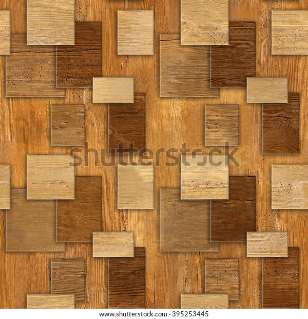 Interior Wall Panel Pattern Decorative Tile Stock Illustration 395253445